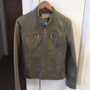 Michael Kors leather jacket. Very soft leather